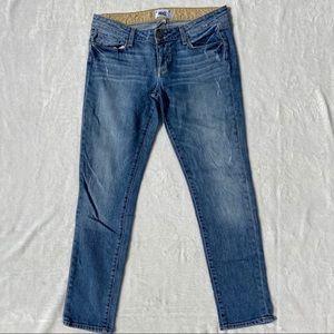 PAIGE Denim Blue Skinny Jeans Size 29